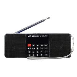 L-288 AMBT bluetooth Portable LCD FM/AM Radio Stereo Speaker MP3 Music Player Micro SD USB 1