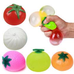 Creative Simulation Multishape Vent Fruit Reduce Stress For Kids Chlidren Gift Toys 1