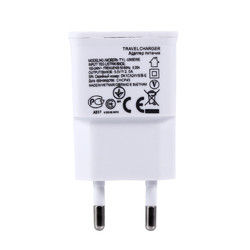Universal Dual USB EU plug 5V 2A Wall Travel Power Charger Adapter 1