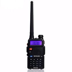 Retevis RT-5R Walkie Talkie 5W Dual Band VHF/UHF Ham Two Way Radio CTCSS/DCS Portable Amateur Radio Transceiver RU 1