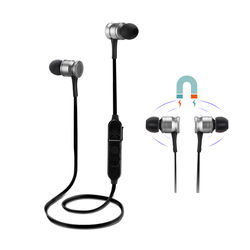 G3 Sport Magnetic Adsorption Strong Bass Wired Control bluetooth Earphone With Mic 1