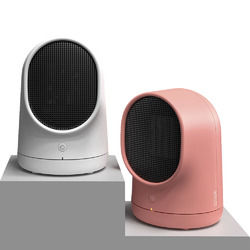 500W Portable Mini Space Electric Ceramic Heater Personal Heater Fan for Home and Office Indoor Use 1