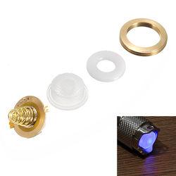 2LED 17mm DIY Lighting Switch Set For Astrolux SS/SC/S2/S3/BLF X5 X6 LED Flashlight 1
