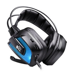 T9 50mm Driver LED Flashing Vibration Gaming Headphone Headset With Mic for Phone PC Computer 1