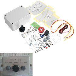 1-30Mhz LED VSWR DIY Manual Antenna Tuner Kit For HAM RADIO * CW QRP Q9 BNC Interface 1