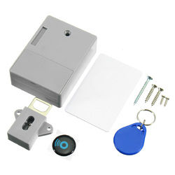 RFID Digital Hidden Cabinet Drawer Lock Without Hole For Home Swimming Pool Gym 1