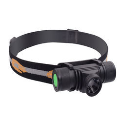 XANES D20 600LM XPG2 LED 6 Modes Zoomable Stepless Dimming USB Charging Interface IPX6 Waterproof Cycling Headlamp 18650 1
