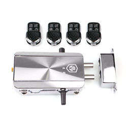 Remote Control Door Lock Wireless Lock Anti-theft Lock Automatically Intelligence Household for Home 1