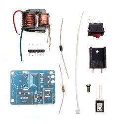 Inverted Step Up High Voltage Generator Arc Igniter Coil Module 15KV High Frequency Transformer Kit 1