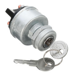 Universal 12V Car Ignition Switch 2 Keys 4 Position ON/OFF/START/ACC Replacement 1
