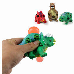 1PC TPR Squishy Dinosaur Jurassic Dinosaurs Squeeze Toy Gift Collection Stress Reliever 1