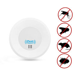 Loskii HP-220 Home Indoor Electronic Plug in Ultrasonic Pest Control Mosquitoes Mice Pest Repeller with Night Light 1
