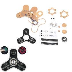 DIY LED Display Rotation Finger Tip Gyro Kit Electronic Production LED Display Module Kit 1