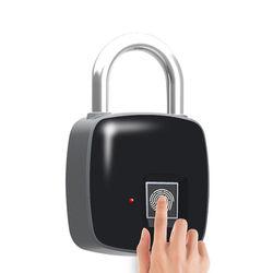 P3 Smart Fingerprint Door Lock Padlock Safe USB Charging Waterproof Keyless Anti Theft Lock 1