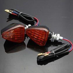Motorcycle Motor Bike Turn Signal Indicators Light Lamp Amber 1