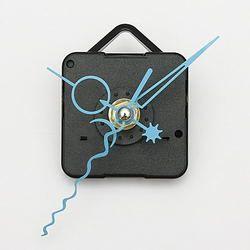 Blue Hands DIY Quartz Black Wall Clock Spindle Movement Mechanism 1