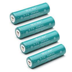 4PCS MECO 3.7v 4000mAh Protected Rechargeable 18650 Li-ion Battery 1