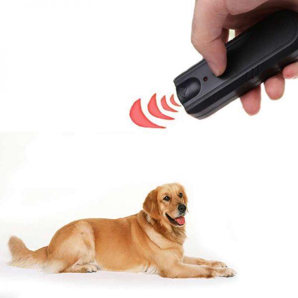 Garden LED Ultrasonic Animal Repeller Dog Training Device Pet Anti Barking Stop Bark Trainer 1